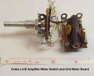 RL Drake L4-B Amplifier Original Meter Switch and Grid Meter Board