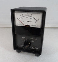 RL Drake W4 Watt Meter in Excellent Condition with Reproduction SWR Card