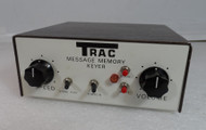Trac Electronics Inc Memory CMOS type Keyer in Excellent Condition