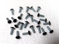 Cabinet  Screws with Black painted Philips Head Size 6-32  Pack of 24