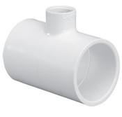 "1-1/2""X1-1/2""x1-1/4"" PVC Reducing Tee Slip Sch 40 (PF 401-212)"