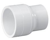 "1-1/2"" x 1-1/4"" PVC Reducing Coupling Slip Sch 40 (PF 429-212)"
