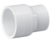 "2"" x 1-1/2"" PVC Reducing Coupling Slip Sch 40 (PF 429-251)"