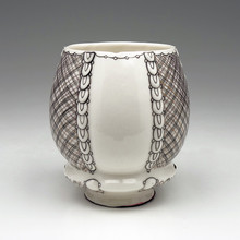 Melanie Sherman - Cup with Triple Line Pattern