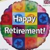 Happy Retirement 18 Inch Foil Balloon