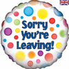 Sorry Your Leaving 18 Inch Foil Balloon