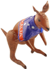 70cm Inflatable Kangaroo With Australian Flag