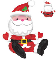 Sitting Santa Foil Balloon
