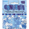 16th Birthday Blue Glitz Foil Confetti