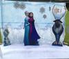 Frozen Scene with Snow Machine & Lights Hire