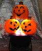Halloween Small Pumpkins Uplighter Hire