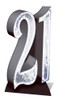 21 Silver Cutout Hire