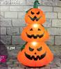 Halloween 1.2m Stacked Pumpkins Hire