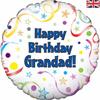 Happy Birthday  Grandad 18 Inch Foil Balloon