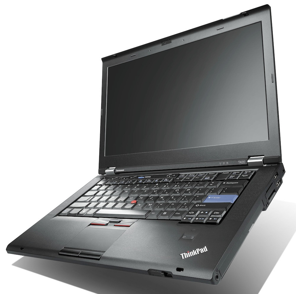 Lenovo Thinkpad T420S - Side view
