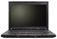 Lenovo Thinkpad X200 - front view
