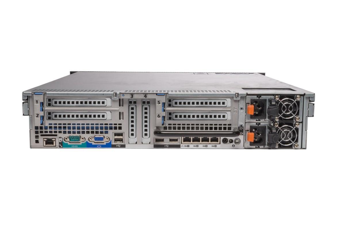 Dell PowerEdge R715 - Rear View