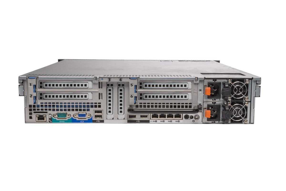 Dell PowerEdge R715 - Rear View