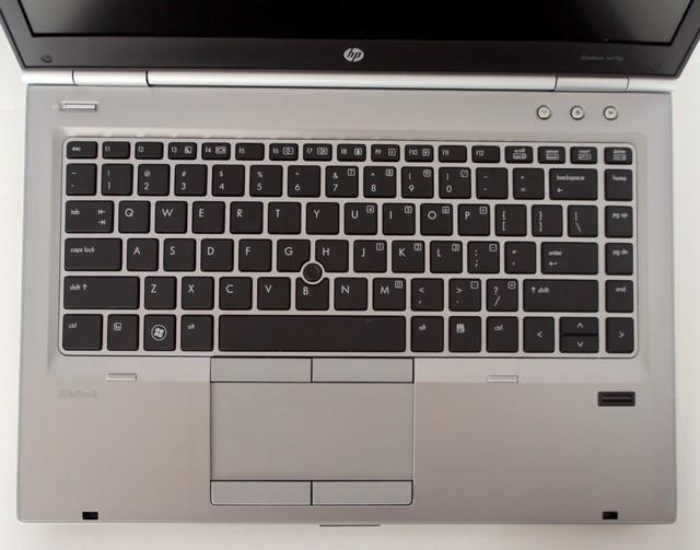 HP Elitebook 8470p Keyboard View