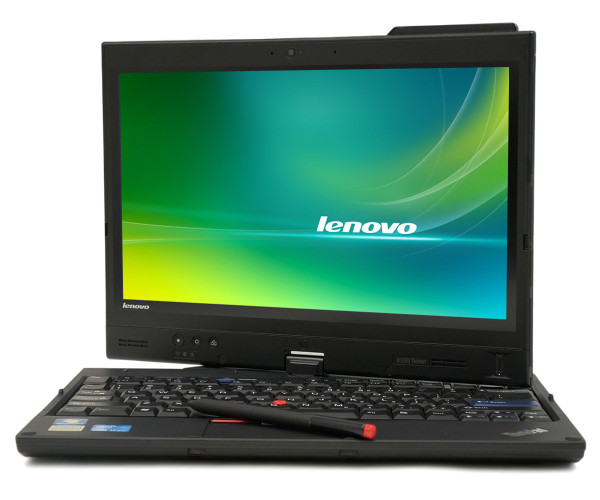 Lenovo Thinkpad X220 tablet - front view