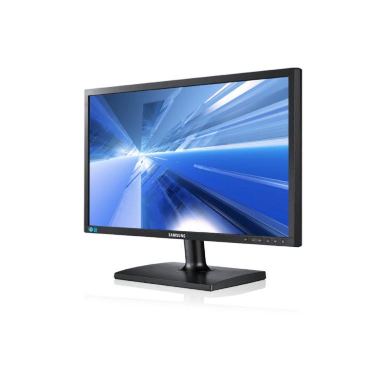 "24"" Samsung S24C450  Full HD LCD TFT Monitor ( Slanted display view )"