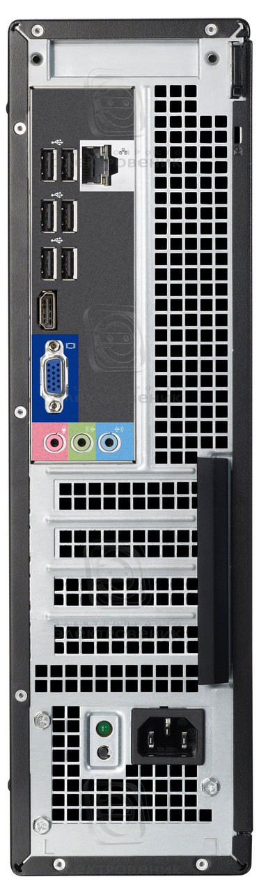 Dell Optiplex 3010 -Desktop-(Configure to Order)- desktop-pc-intel-back view