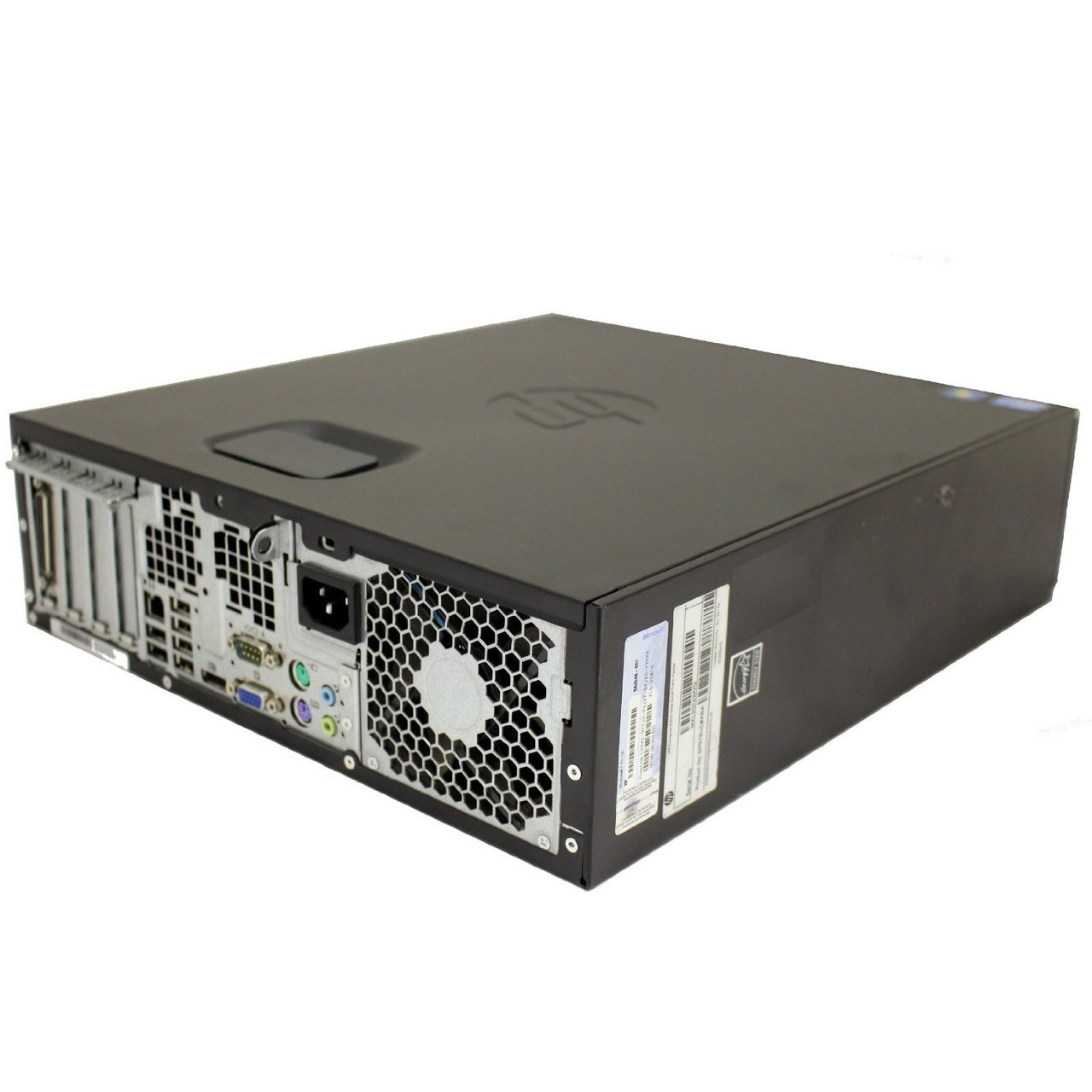 HP 6200 SFF - REAR SIDE VIEW