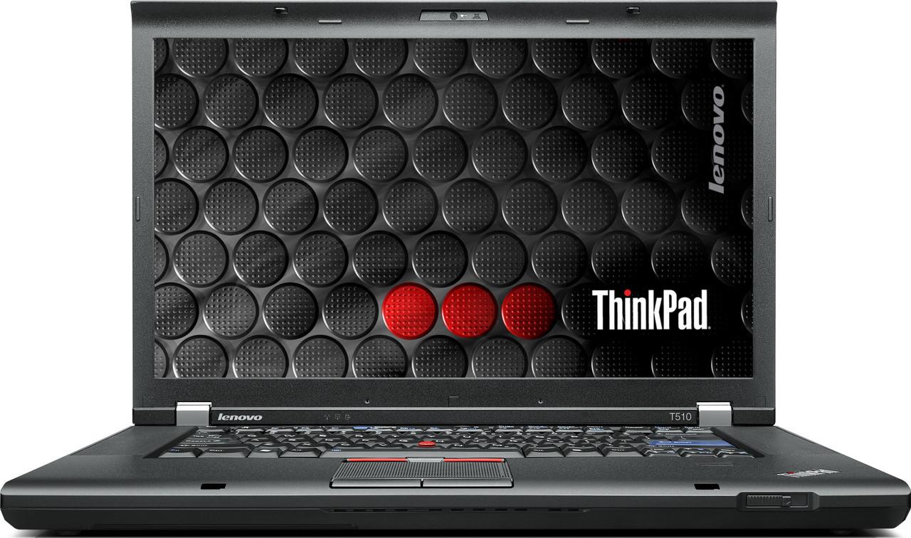 Lenovo Thinkpad T510 Laptop - front