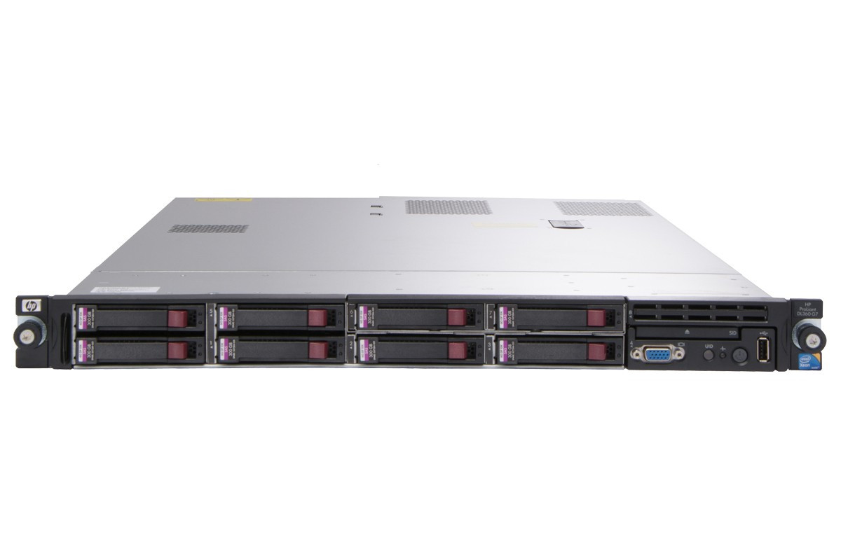 refurbished hp proliant dl360 g7 single cpu rack server. Black Bedroom Furniture Sets. Home Design Ideas