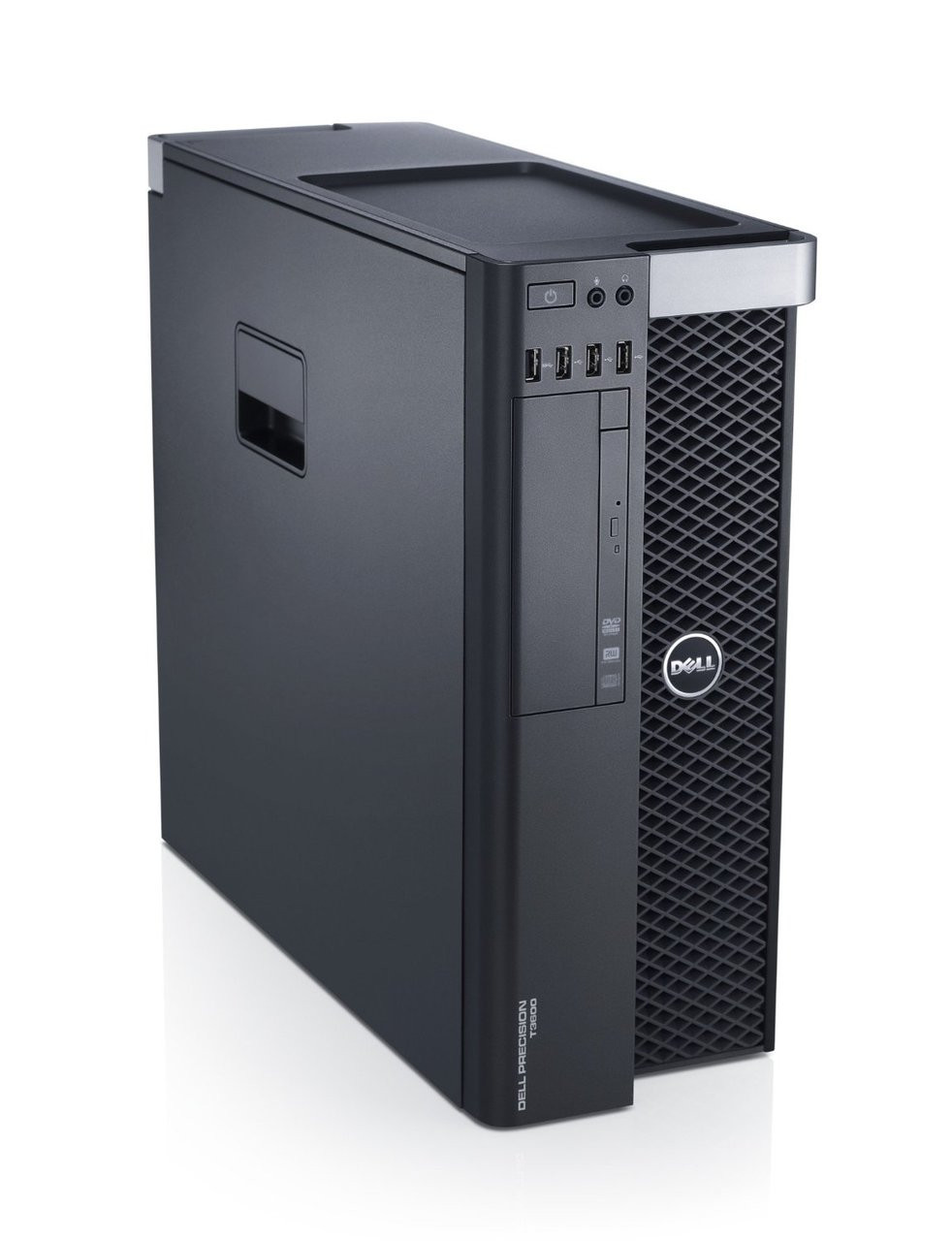 Dell Precision T3600 workstation - Left side view