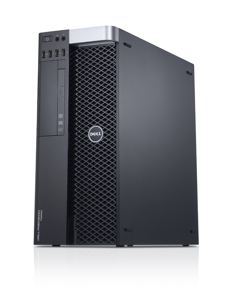 Dell Precision T3600 workstation - Right side view