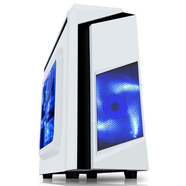 F3 White Gaming PC
