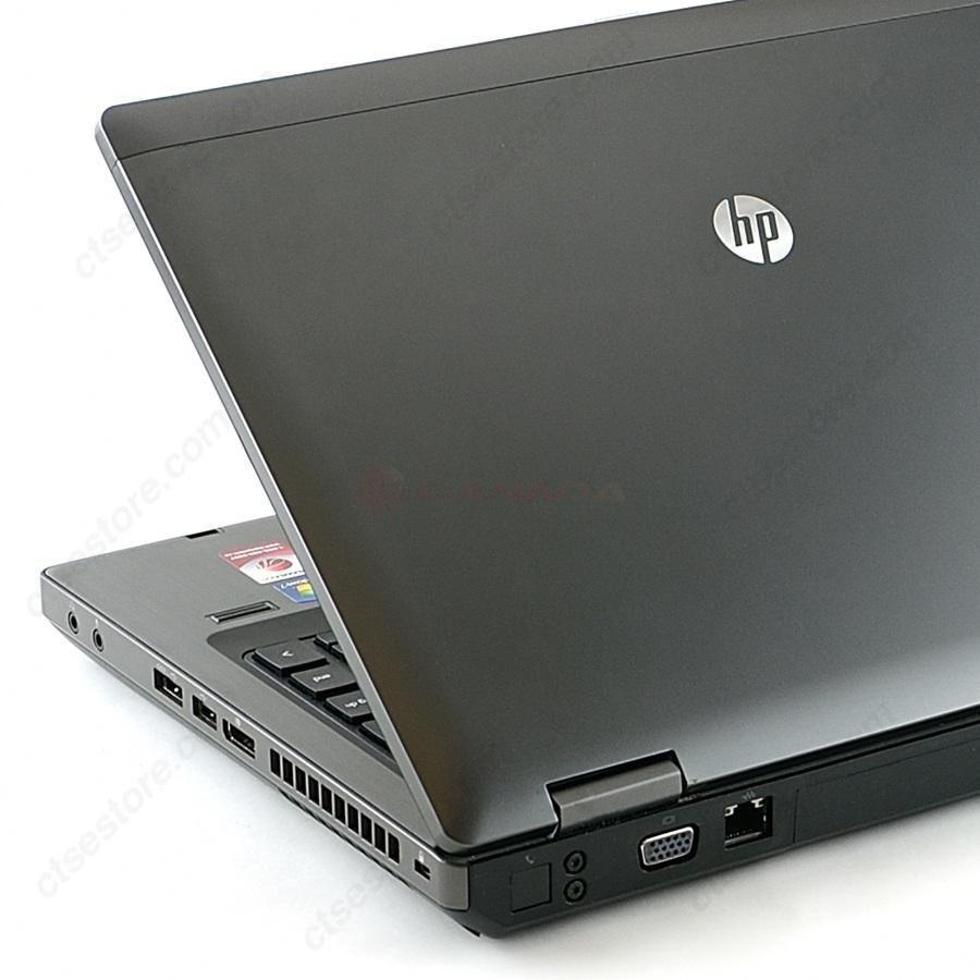 HP Probook 6460b - Rear View