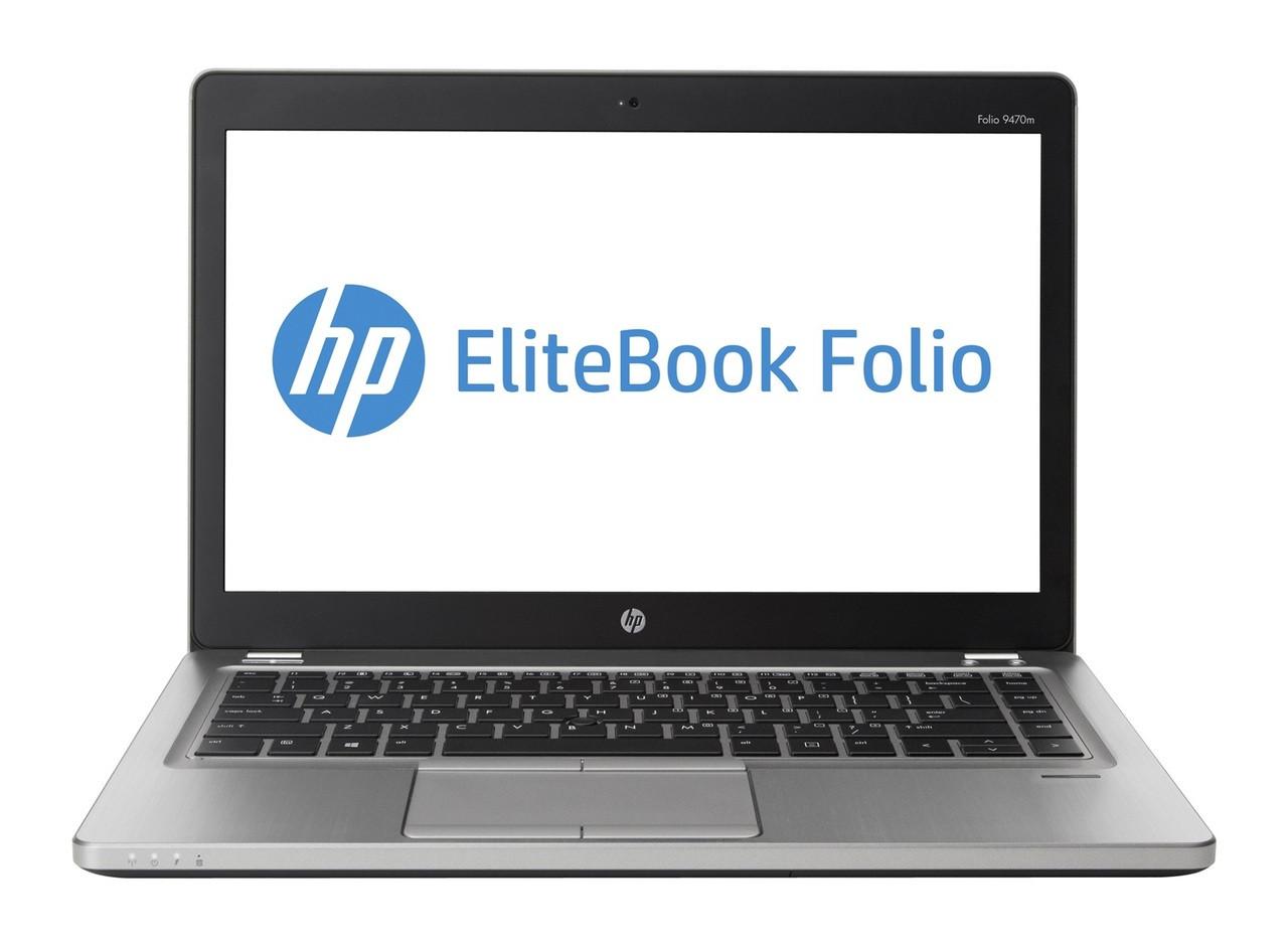 HP EliteBook Folio 9470m - Front Display View