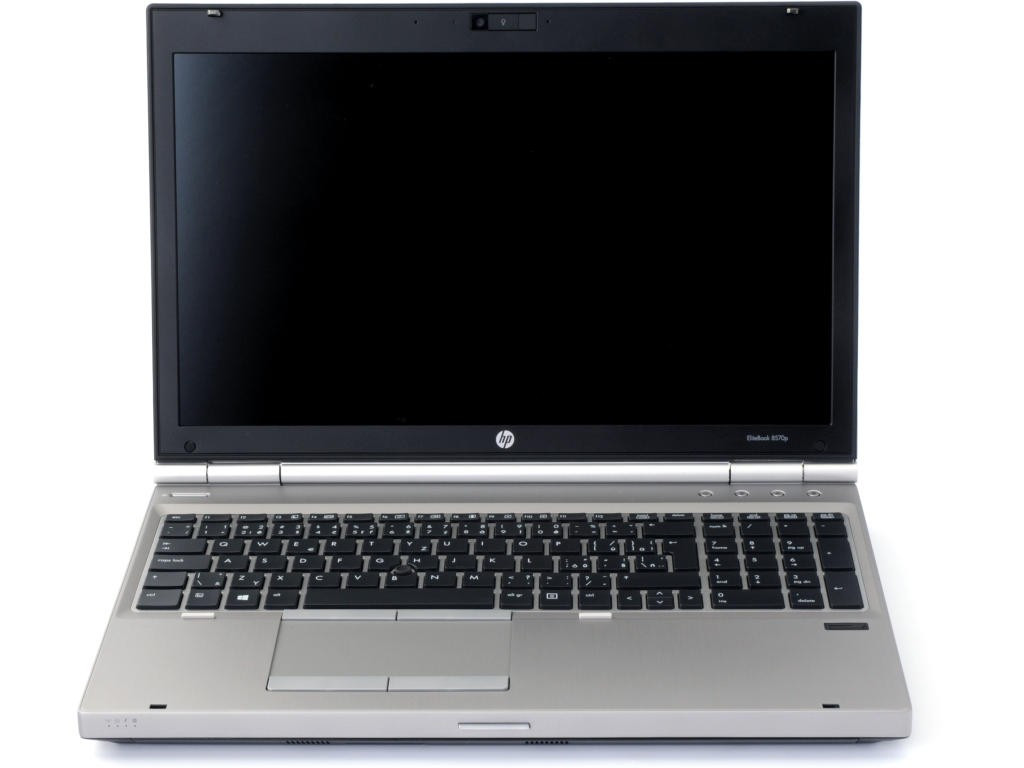HP EliteBook 8570p - Front display view