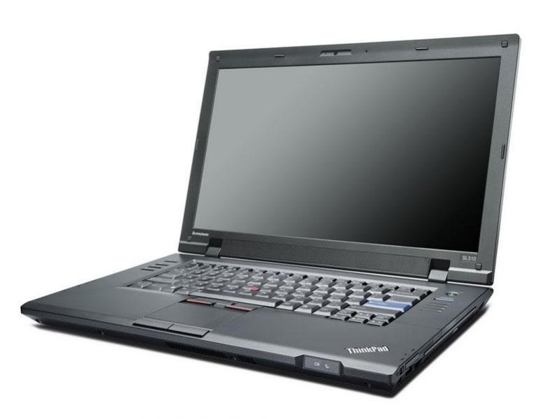 Lenovo Thinkpad SL510 - Side Display View