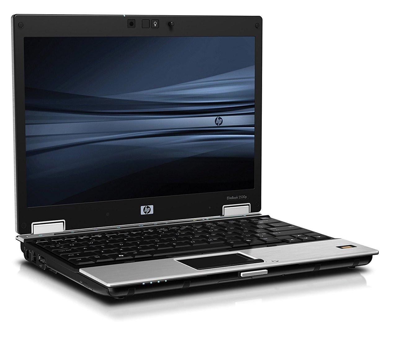 HP EliteBook 2530p - Side Display View 2