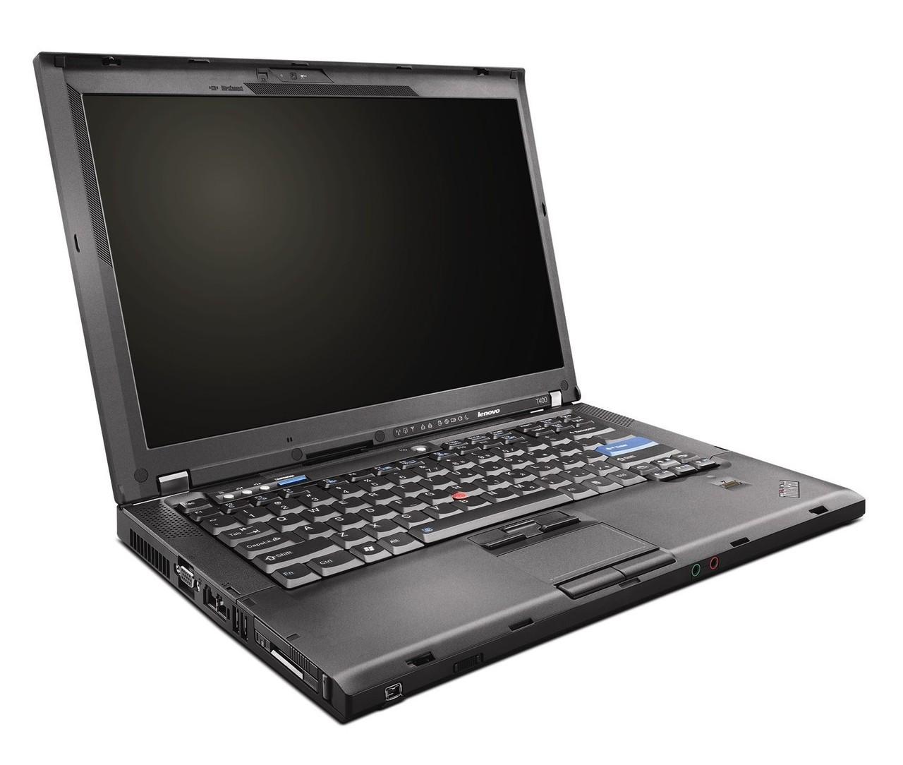 Lenovo Thinkpad T400 - Side Display View