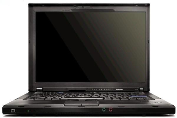 Lenovo Thinkpad T400 - Front Display View