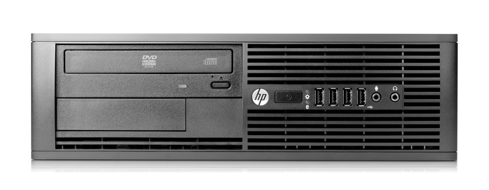 HP 4300 SFF - Front side view 2