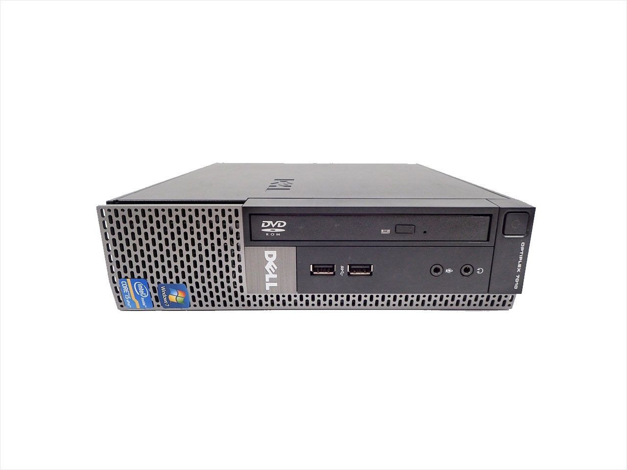 Dell Optiplex 7010 USFF - Front View