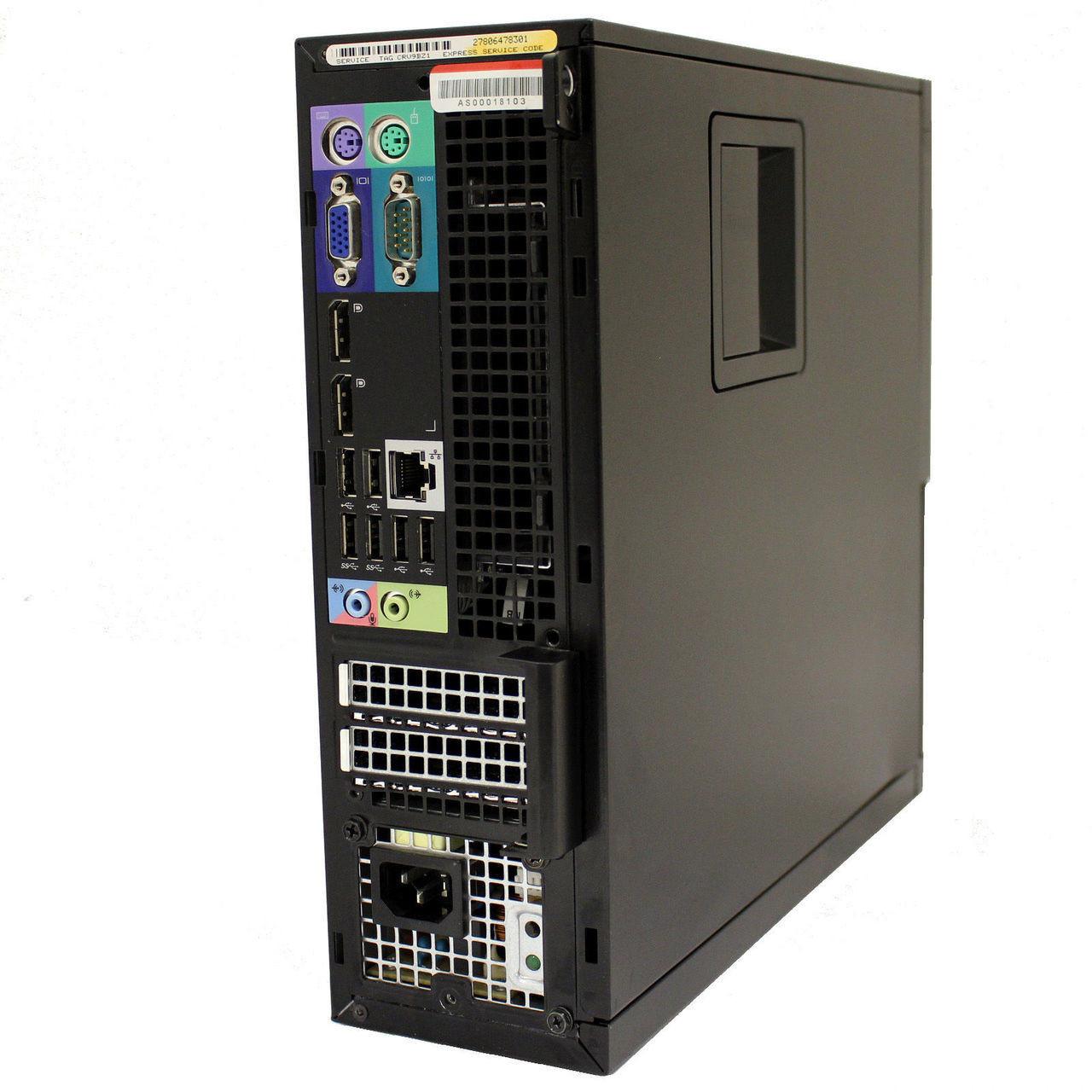 Dell Optiplex 9010 SFF - Back View 2