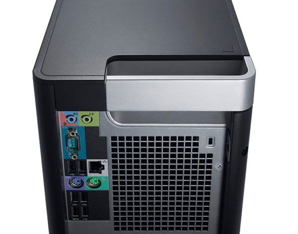 Dell Precision T5600 - Rear View