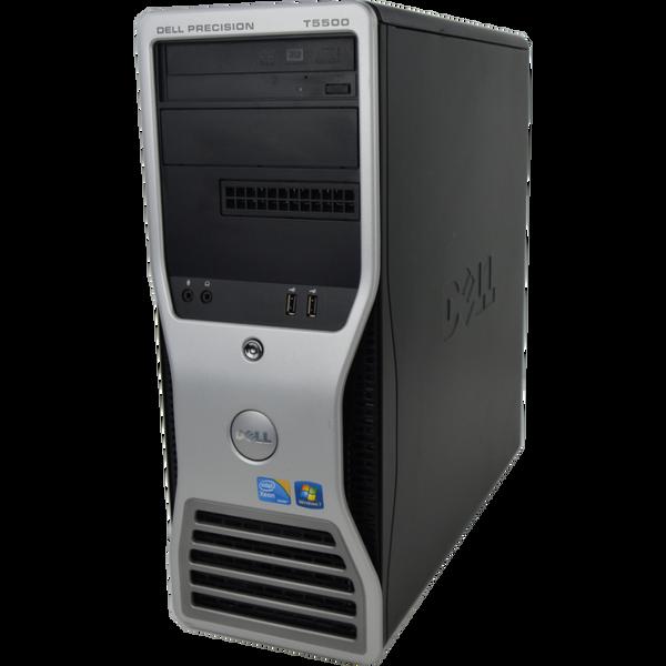 Dell Precision T5500 - Front View