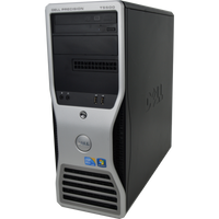 Dell Precision T5500 - Front View