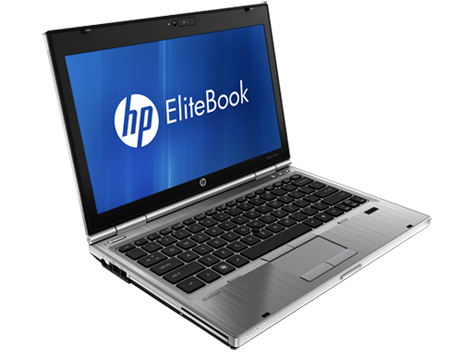 Hp Elitebook 2560p (Side view)