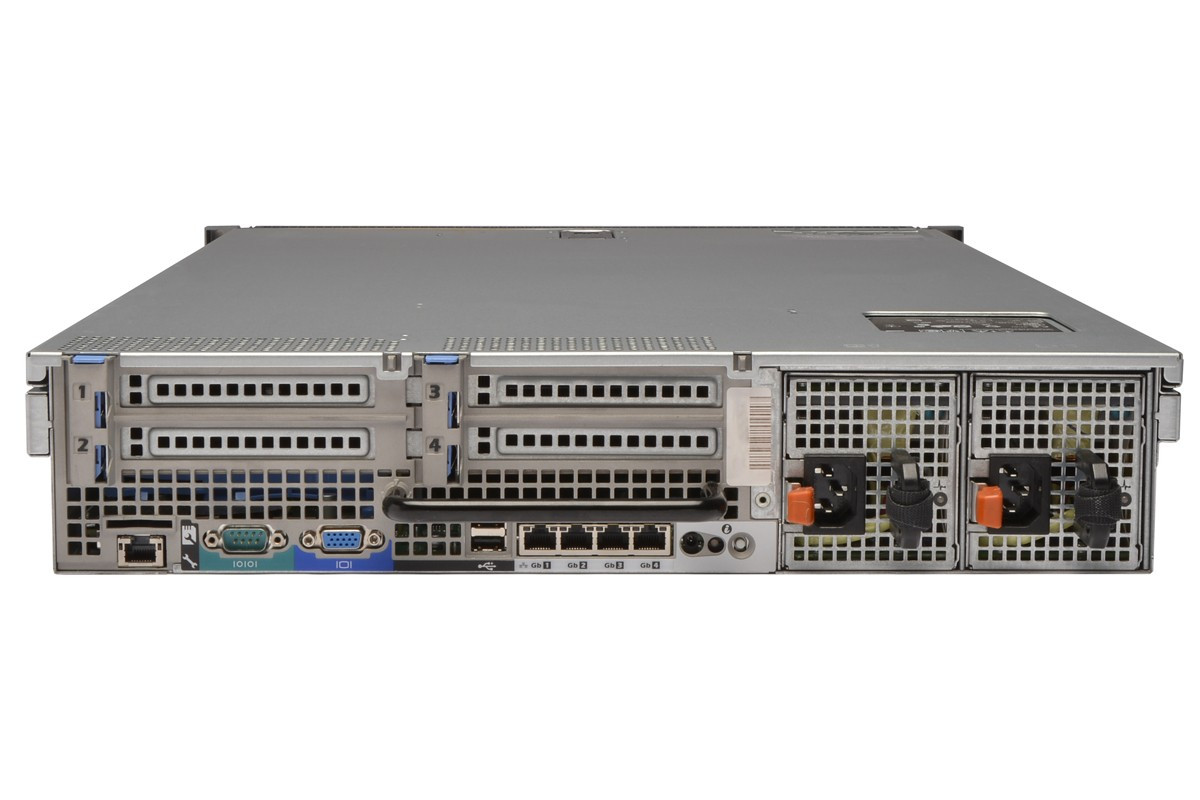 DELL PowerEdge R710 refurbished server - rear view