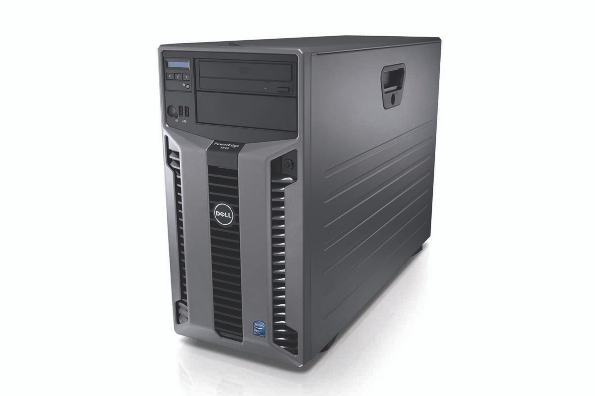 Dell Poweredge T710 Tower Server - front right side view