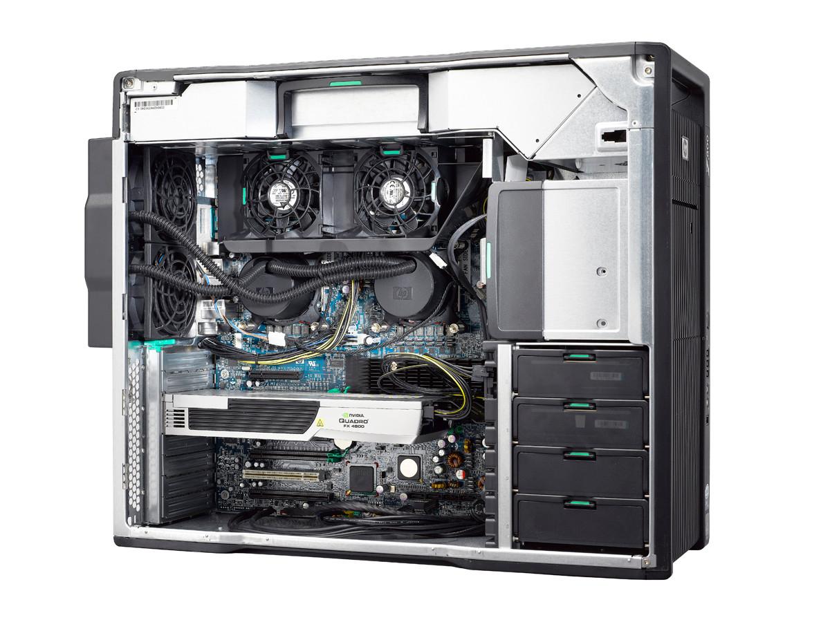 HP Z800 Workstation - inside look