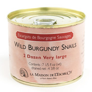 Wild Burgundy Snails, Very Large 2 Dozen